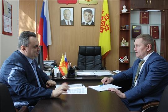 Дмитрий Сержантов с рабочим визитом посетил Шемуршинский, Батыревский, Яльчикский районы