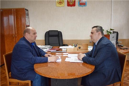 Дмитрий Сержантов посетил Моргаушский, Ядринский и Красночетайский районы Чувашской Республики