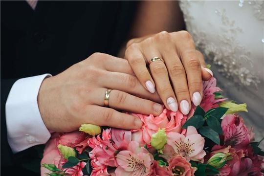 В Чувашии на Красную горку планируют заключить брак 53 пары