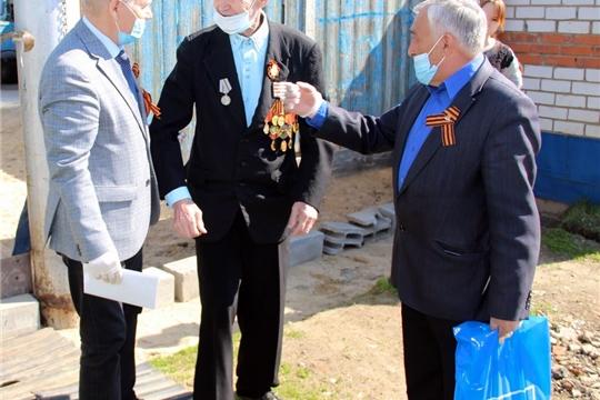 Ветераны войны Моргаушского района приняли поздравление руководства республики и района, депутатов Государственной Думы РФ и Государственного Совета Чувашии