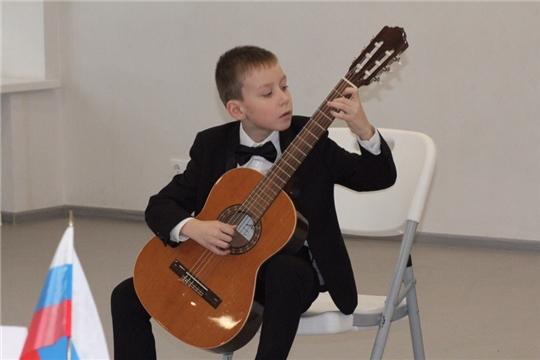 Юный чебоксарский гитарист Антон Кудряшов достойно представил республику на международном конкурсе