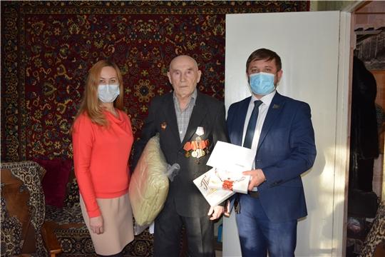 В Московском районе г. Чебоксары чествовали юбиляров-долгожителей