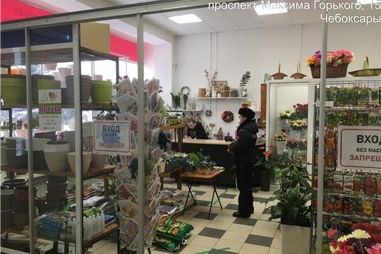 Мобильные группы г. Чебоксары вновь обследовали предприятия торговли и бытового обслуживания