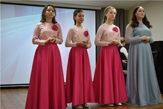 Воспитанники Академии искусств г. Чебоксары и их наставники подготовили концерт для сильной половины человечества