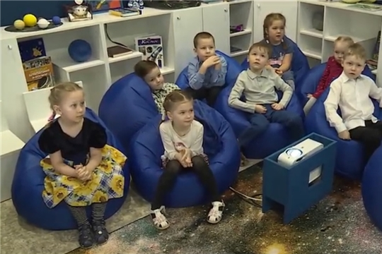 Воспитанники чебоксарского детского сада № 7 могут видеть звезды и планеты в ЗD формате