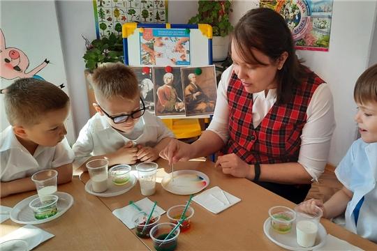 Год науки и технологий: в детских садах г. Чебоксары прошел Всемирный день творчества и инноваций