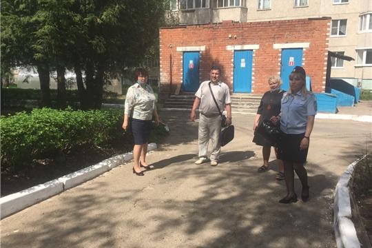 Дошкольные образовательные учреждения г. Чебоксары обследовали на предмет антитеррористической защищенности