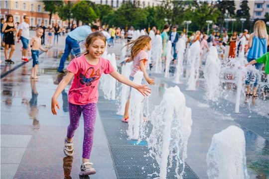 Поздравление руководства города с Международным днём защиты детей