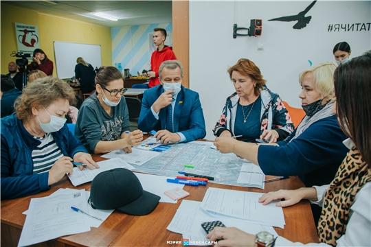 Жители северо-запада г. Чебоксары внесли свои предложения в концепцию благоустройства Школьного бульвара