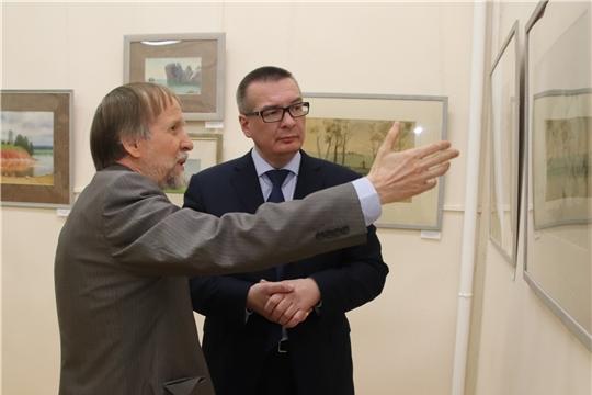 В Новочебоксарске открылась выставка «Академия акварели. Александр Мухин-Чебоксарский и ученики»