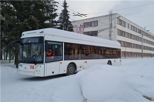 Глава администрации Новочебоксарска Павел Семенов проверил готовность выпуска нового электрического транспорта на линию