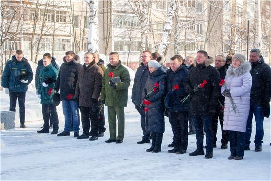 В Новочебоксарске состоялся митинг,посвященный 32 годовщине выводы советских войск из Афганистана