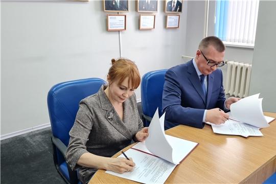 Подписано соглашение о сотрудничестве между администрацией Новочебоксарска и Союзом женщин Чувашии
