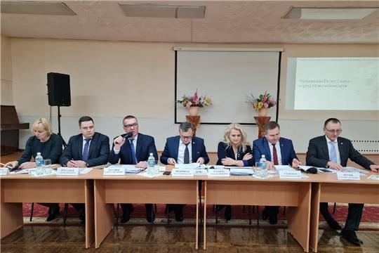 Новочебоксарск с рабочим визитом посетила делегация Кабинета Министров Чувашской Республики