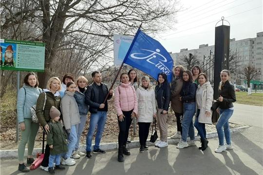 В Новочебоксарске продолжается акция  «10 000 шагов к жизни»