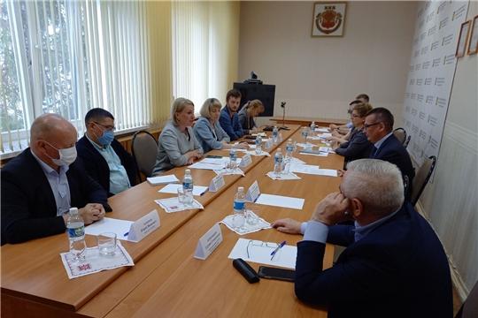 Руководитель Госслужбы Чувашии по конкурентной политике и тарифам Надежда Колебанова с рабочим визитом посетила г. Новочебоксарск