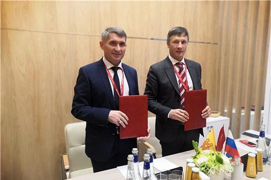 ПМЭФ-2021: Подписано соглашение о намерениях по реализации в Чувашии первого в России производства биоразлагаемого пластика