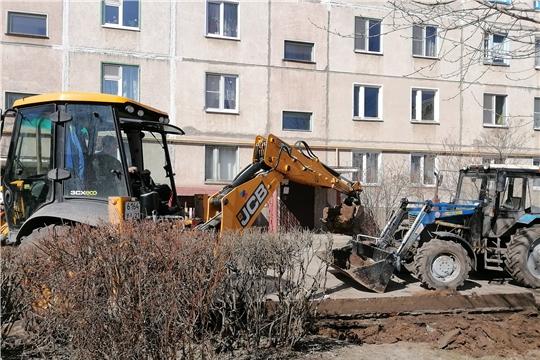 В 2021 году в Новочебоксарске будет благоустроено 57 дворовых территорий