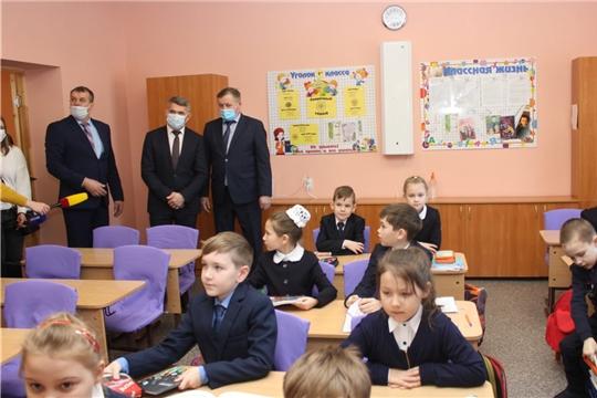 В Ибресинской школе №1 в этом году завершат программу капитального ремонта, «Чувашинформ»