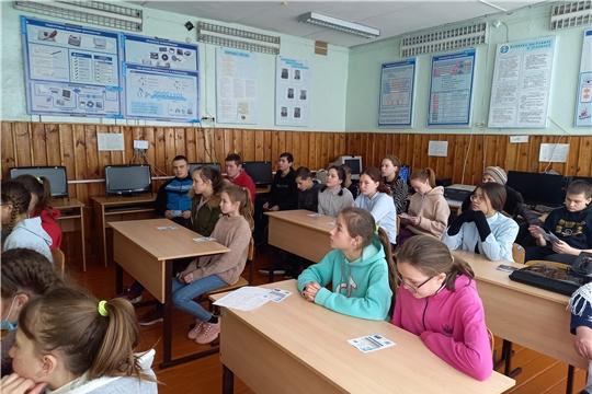 Наставники «IT-Куба» в Вурнарах провели мастер-классы для школьников