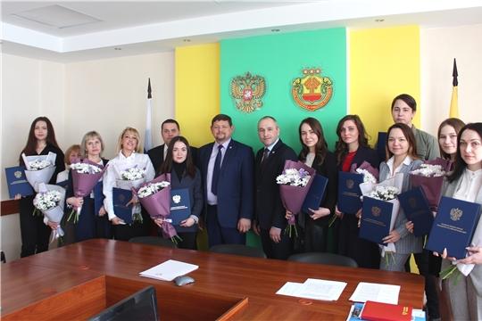 Вручение Благодарственных писем Президента Российской Федерации волонтерам Конституции и Общероссийской акции «МыВместе»