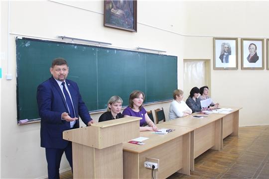 Встреча представителей Минобразования со студентами ЧГПУ