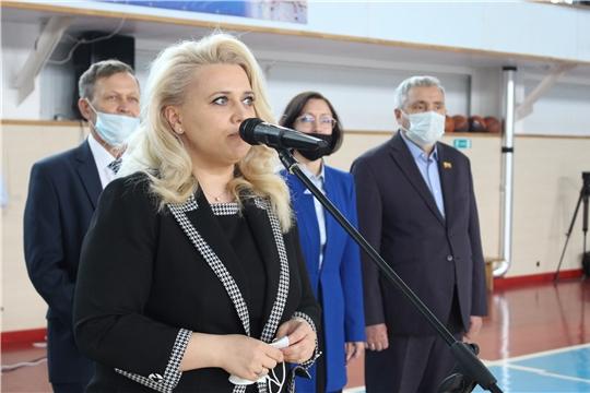 Министр образования и молодежной политики Чувашии Алла Салаева посетила Ядринский район
