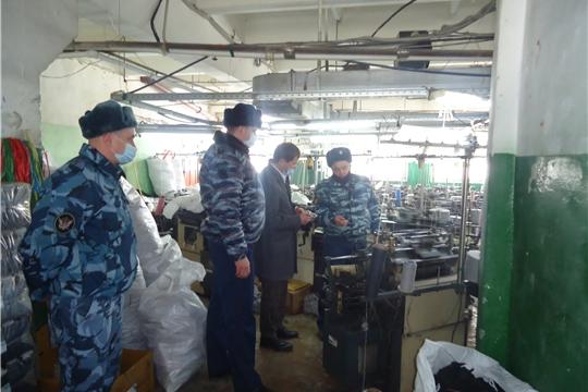 Уполномоченный по правам человека в Чувашской Республике посетил исправительную колонию № 3 в г. Новочебоксарске