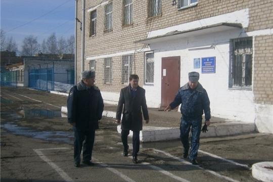 Уполномоченный по правам человека в Чувашской Республике посетил исправительную колонию №1 УФСИН России по Чувашской Республике – Чувашии