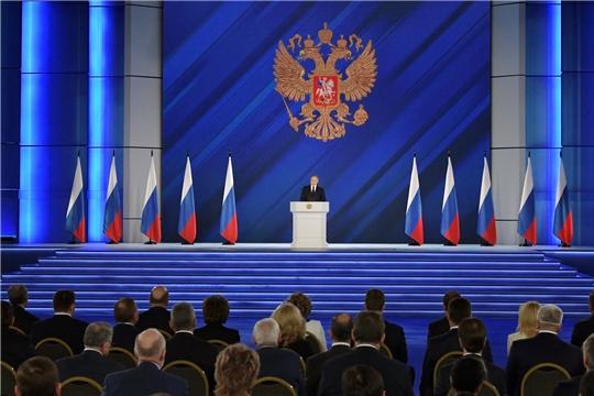 21 апреля Президент Российской Федерации Владимир Путин выступил с ежегодным Посланием Федеральному Собранию