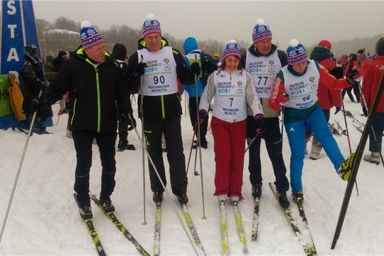 Состоялась Всероссийская массовая лыжная гонка «Лыжня России»