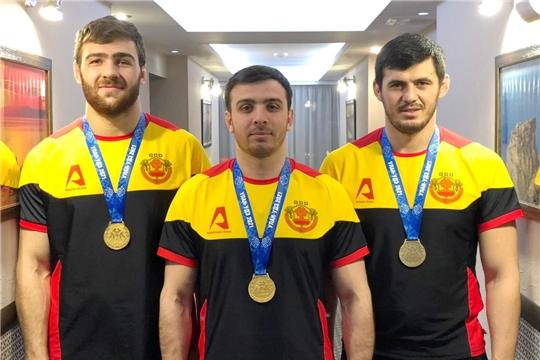 Победа спортсменов Чувашии на чемпионате России по вольной борьбе