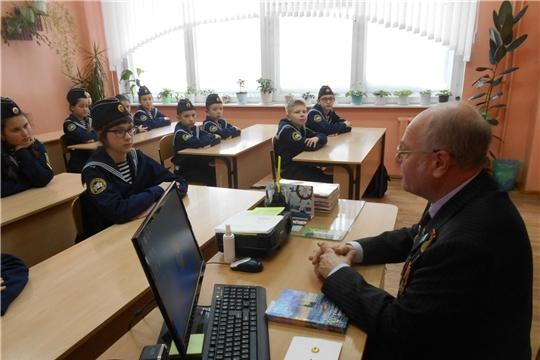 Порецкие кадеты участвуют в месячнике оборонно-массовой и спортивной работы