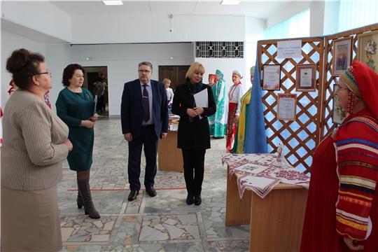 С участием министра культуры Чувашии Светланы Каликовой состоялось подведение итогов отрасли культуры Порецкого района