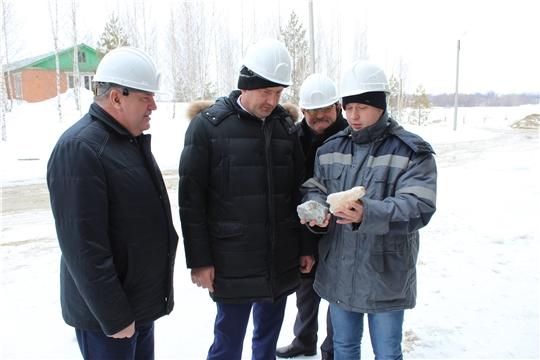 Порецкий район с рабочим визитом посетил министр промышленности и энергетики Чувашской Республики Евгений Герасимов