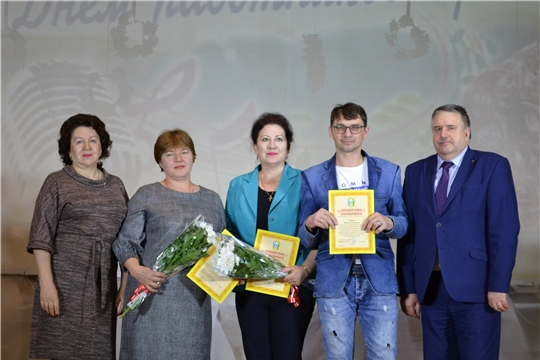 Работники культуры Порецкого района принимали поздравления с профессиональным праздником