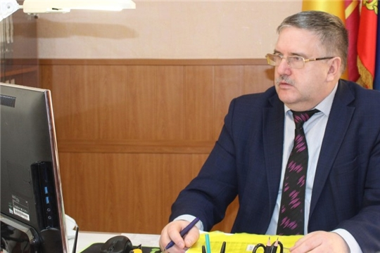 Глава администрации Порецкого района Евгений Лебедев комментирует Послание Президента России Владимира Путина