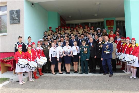 Торжественное мероприятие, посвящённое открытию мемориальной доски памяти контр-адмирала Михаила Павловича Бочкарева