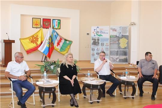 Министр образования Алла Салаева с рабочим визитом посетила Порецкий район