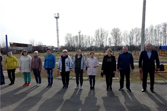 В Шемуршинском районе состоялся  муниципальный этап  Фестиваля Всероссийского физкультурно-спортивного комплекса ГТО среди работников администрации