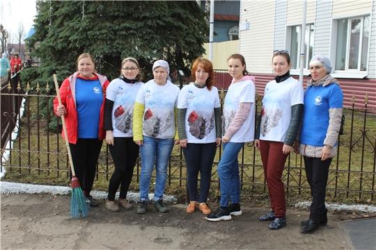 В Шемуршинском районе состоялся Всероссийский субботник 2