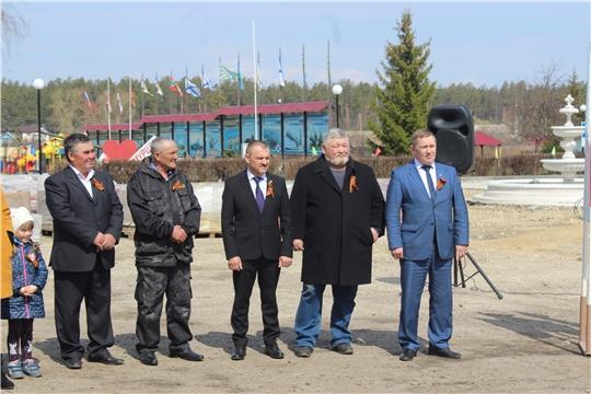 Занесение на Доску почета граждан Шемуршинского района