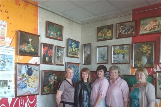 Члены женсовета Шумерлинского района посетили экспозицию«Искусство натюрморта, или Тихая жизнь вещей»