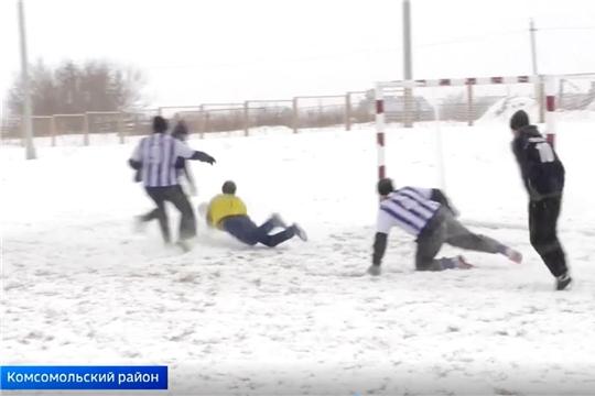 В Комсомольском районе прошел турнир по футболу, в честь земляков, погибших в Афганистане и Чечне