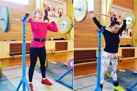 Тяжелоатлетки Александра Козлова и Наталия Шайманова готовятся к Кубку России