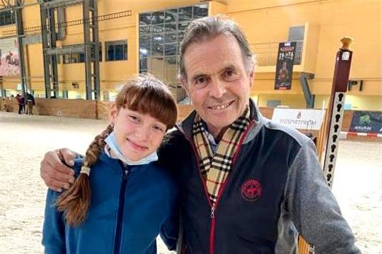 Тренеры республиканской конно-спортивной школы приняли участие в мастер-классе призера Олимпийских игр Фредерика Коттье