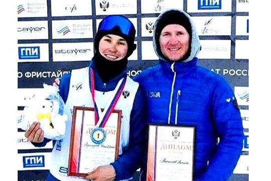 Фристайлист Дмитрий Мулендеев одержал победу на II этапе Кубка России