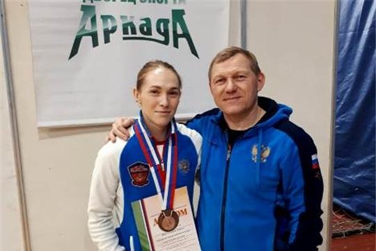 Ирина Баймулкина завоевала «бронзу» на Кубке России по тяжелой атлетике в Старом Осколе
