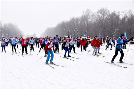 Всероссийская массовая лыжная гонка «Лыжня России-2021»