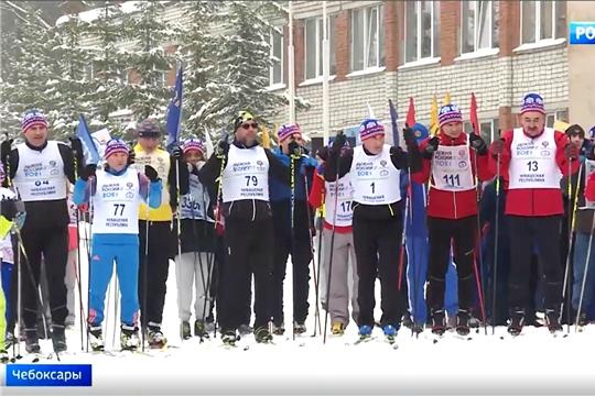 «Лыжня России-2021» собрала в Чувашии более 35 тысяч участников